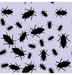 Beetle insect seamless pattern 668 vector