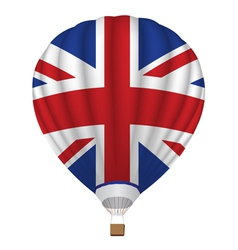 balloon with United Kingdom flag vector image
