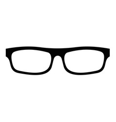 medical eyeglasses icon simple style vector image