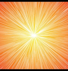 Sun Burst Blast Background vector image