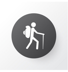 tourist icon symbol premium quality isolated vector image