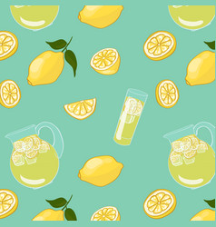 Colorful summer drink background vector