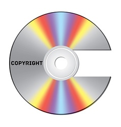 Copyright cd vector