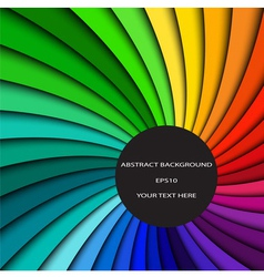 Abstract color background spectrum lines vector image vector image