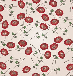 Beautiful vintage floral seamless pattern vector image vector image