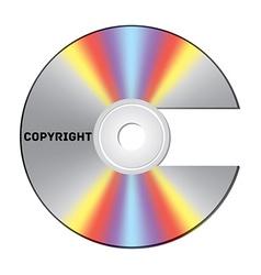 Copyright cd vector