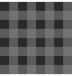 Tile dark grey and black plaid pattern vector