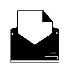 Contour folder file document information archive vector