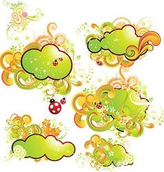 Fresh Summer Set vector image
