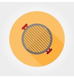 Grill grate icon vector