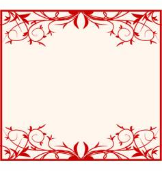 Beauty frame vector