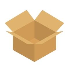 carton box delivery service vector image