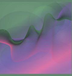 D line guilloche color wave vector