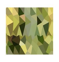 Dark khaki abstract low polygon background vector