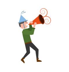 man party dance celebration vector image vector image