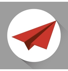 Paperplane icon design vector