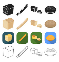 production food treats and other web icon in vector image vector image