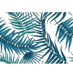 Seamless tropical pattern exotic background with vector image