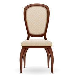 chair 01 vector image vector image