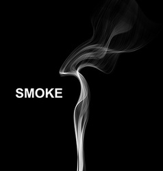 Cigarette smoke waves background vector