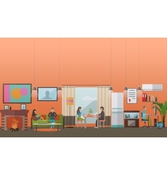 Modern gadgets for daily life concept vector image