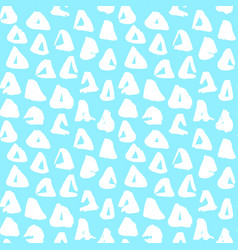 trendy triangle seamless pattern vector image
