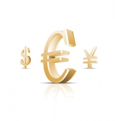 money symbol illustration vector image