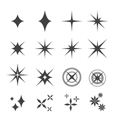 Sparkles icon vector