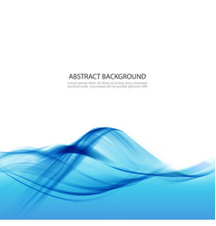 blue abstract background with water wave vector image