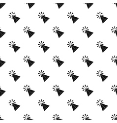 Computer cursor pattern simple style vector