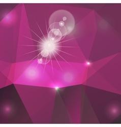 Poligon light effect background triangular vector