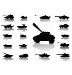 WeaponTanks vector image vector image