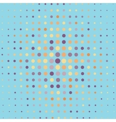Abstract halftone pattern background vector