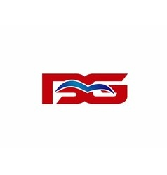 BG letter logo vector image