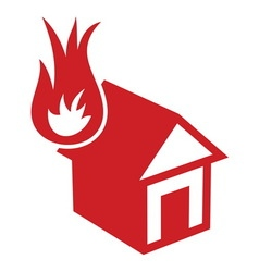 Fire in the house1 resize vector