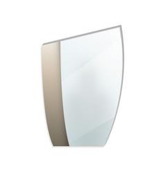 trendy decorative mirror isolated icon vector image