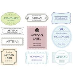 Labels set 5 vector