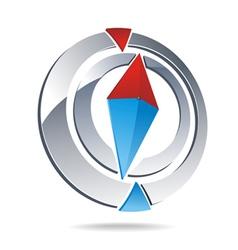 Compass logo vector