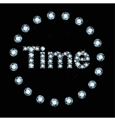 Diamond word time vector