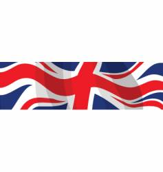 Flag uk vector