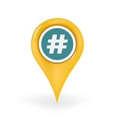 Tag location vector