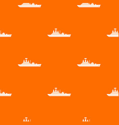 Warship pattern seamless vector