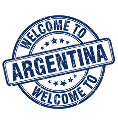 Welcome to argentina vector