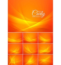 Curly abstract background vector