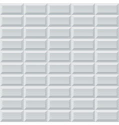 Abstract white and grey geometric rectangles vector image