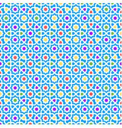 arabic pattern seamless texture decor vector image