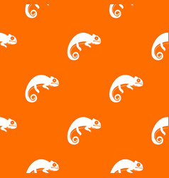 Chameleon pattern seamless vector