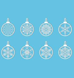 snowflake winter design season december snow vector image vector image