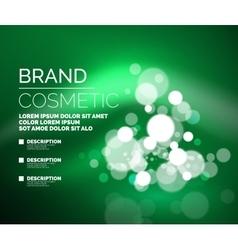 universal glamorous cosmetic blank vector image vector image