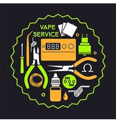 Vape service vector